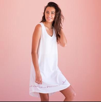 SLEEVELESS WINE NIGHTGOWN - Molly's! A Chic and Unique Boutique