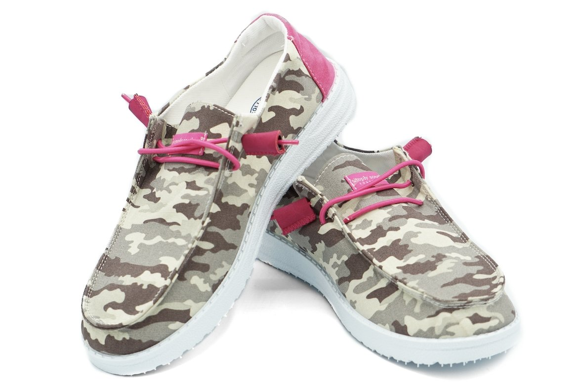 SLIP ON CAMO PP-0120-SLIPON-CAMO - Molly's! A Chic and Unique Boutique