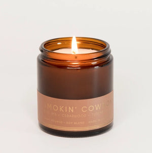 SMOKIN' COWBOY Petite Candle 20hr Burn - Molly's! A Chic and Unique Boutique