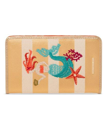 SNAP WALLET MERMAID STRIPE - Molly's! A Chic and Unique Boutique