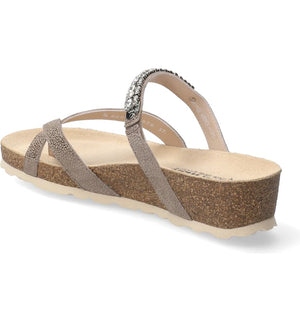 SOLANIE SANDAL - DARK TAUPE - Molly's! A Chic and Unique Boutique