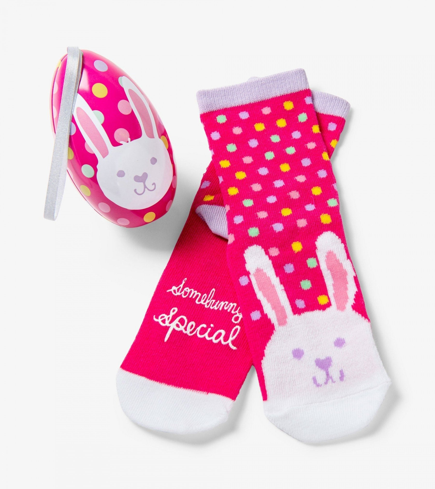 """SOMEBUNNY SPECIAL"" KIDS SOCKS IN EGGS - Molly's! A Chic and Unique Boutique"