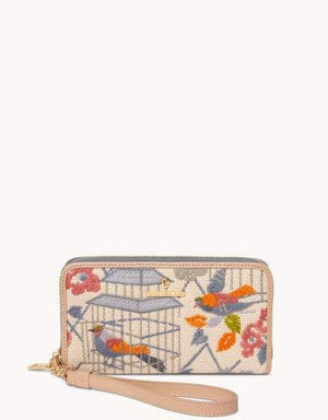 SONGBIRD EMBROIDERED WALLET 658591 - Molly's! A Chic and Unique Boutique