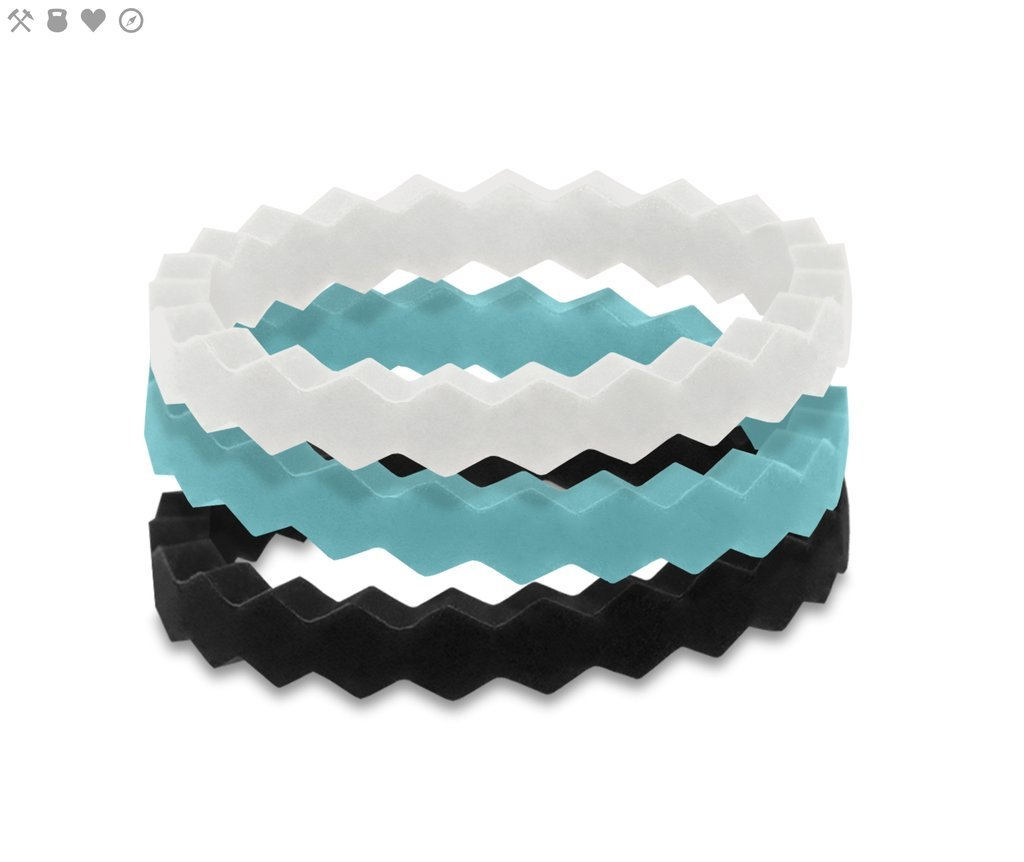 STACKABLE SILICONE RINGS - Molly's! A Chic and Unique Boutique