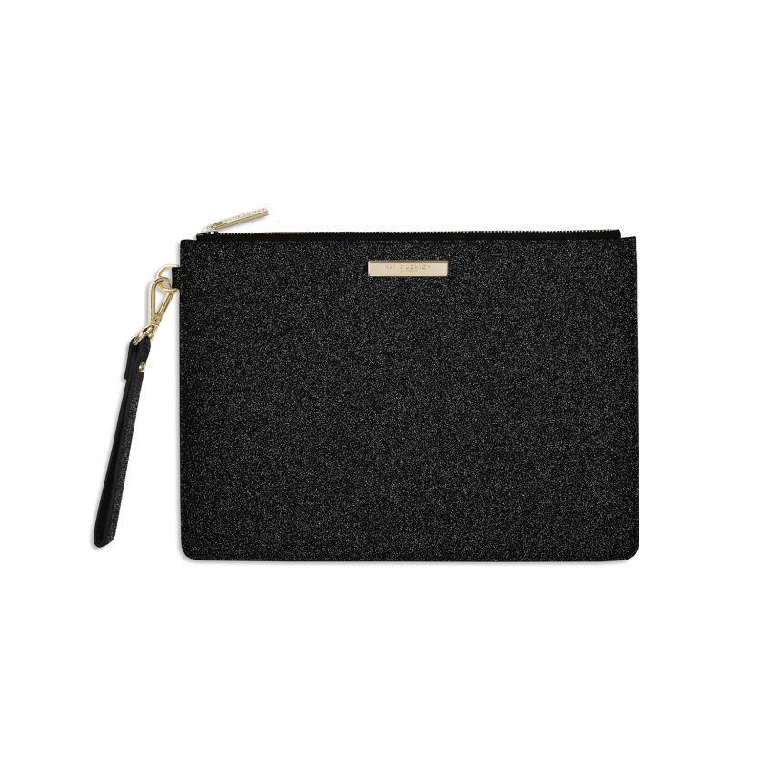 STARDUST CLUTCH - BLACK - Molly's! A Chic and Unique Boutique