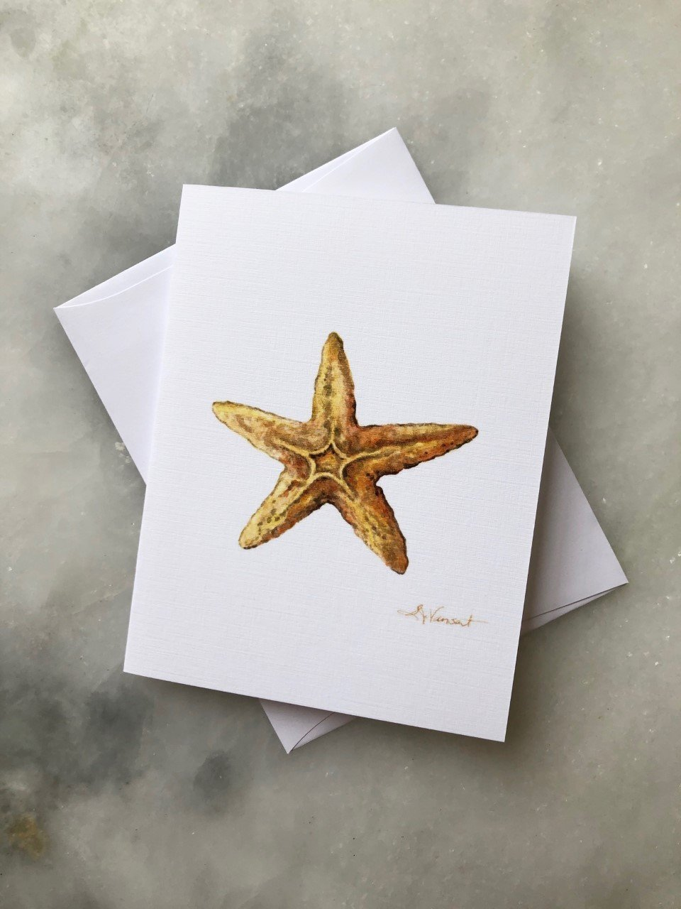 STARFISH GREETING CARD - Molly's! A Chic and Unique Boutique