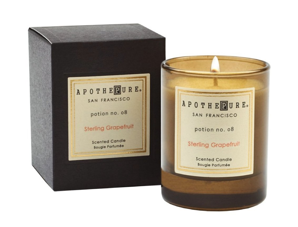 STERLING GRAPEFRUIT CANDLE 2 OZ - Molly's! A Chic and Unique Boutique