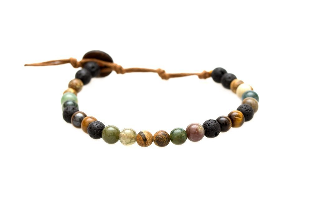 STRENGTH & COURAGE (6MM)HEALING BRACELET - Molly's! A Chic and Unique Boutique