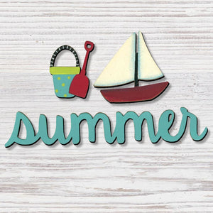 """SUMMER"" W/ BEACH MAGNETS - Molly's! A Chic and Unique Boutique"