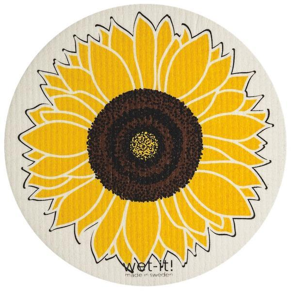 SUNFLOWER ROUND- ABSORBENT CLOTH - Molly's! A Chic and Unique Boutique