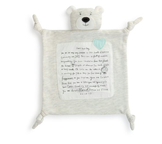 SWEET BOY BLUE BLANKIE - Molly's! A Chic and Unique Boutique