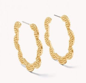 SWEET & SOUR HOOP EARRINGS: GOLD - Molly's! A Chic and Unique Boutique