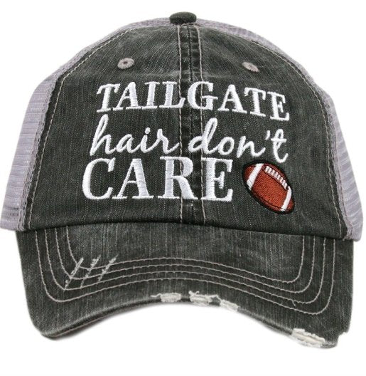 TAILGATE HAIR DONT CARE TRUCKER HAT - KDC-TC-131 - Molly's! A Chic and Unique Boutique