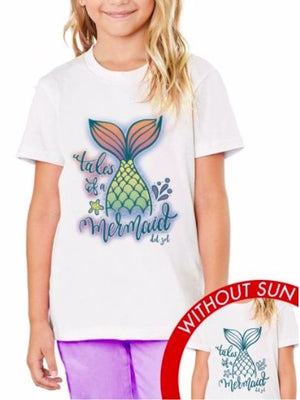 TALES OF A MERMAID T-SHIRT- COLOR CHANGES WITH THE SUN! - Molly's! A Chic and Unique Boutique
