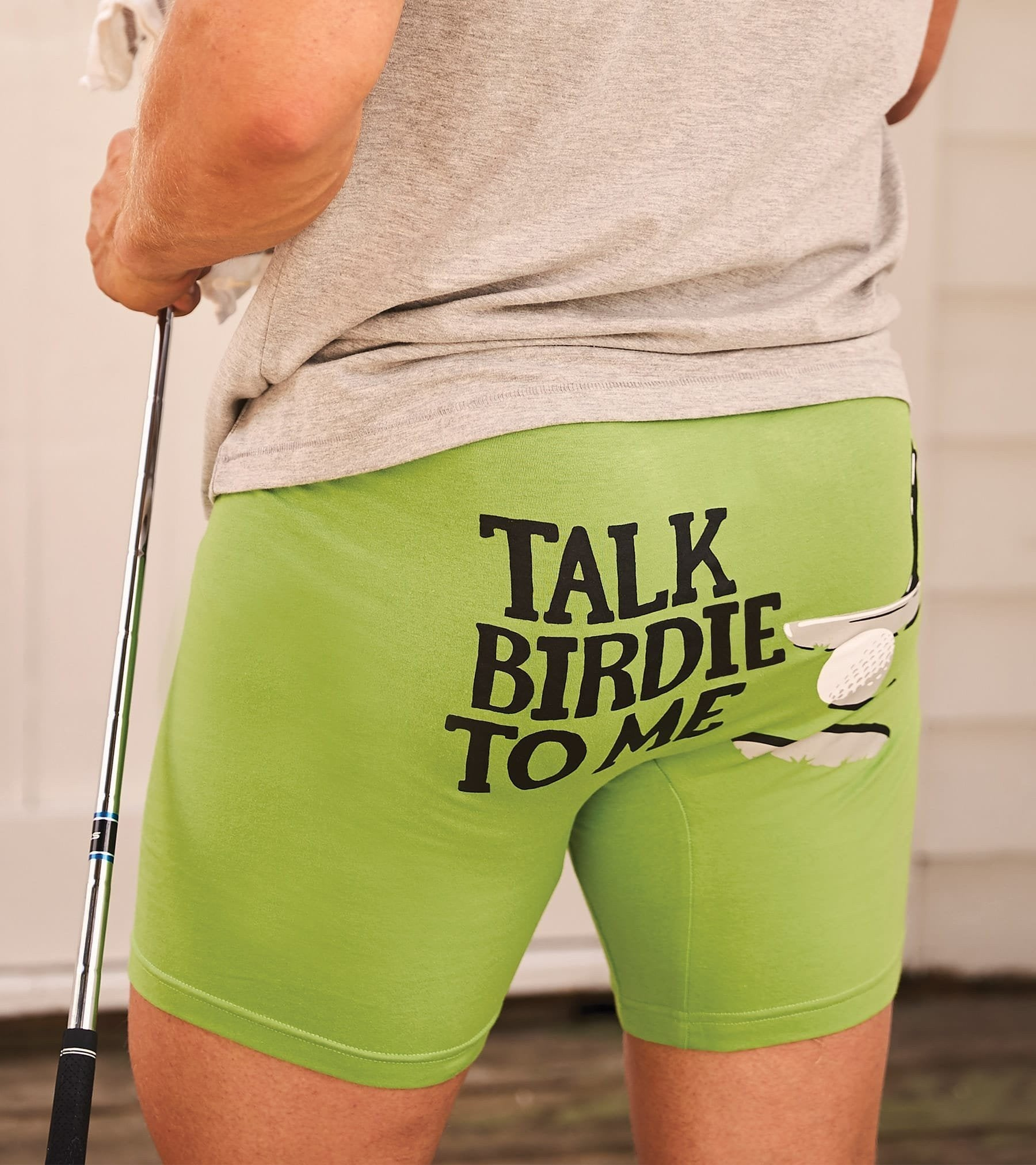 """TALK BIRDIE TO ME"" MEN'S BOXER BRIEFS - Molly's! A Chic and Unique Boutique"