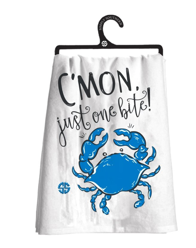 TEA TOWEL:  C'mon just one bite! - Molly's! A Chic and Unique Boutique