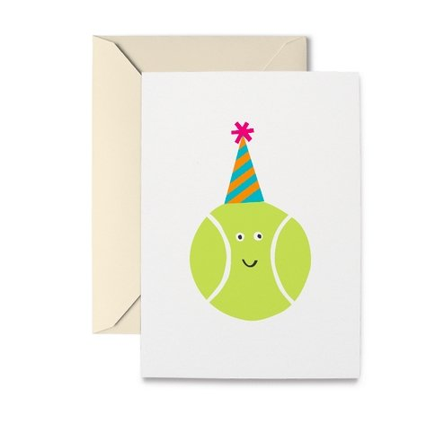 TENNIS BALL BIRTHDAY CARD - Molly's! A Chic and Unique Boutique