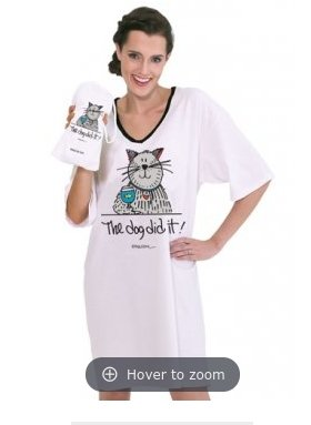 THE DOG DID IT NIGHTSHIRT IN A BAG - NS4471 - Molly's! A Chic and Unique Boutique