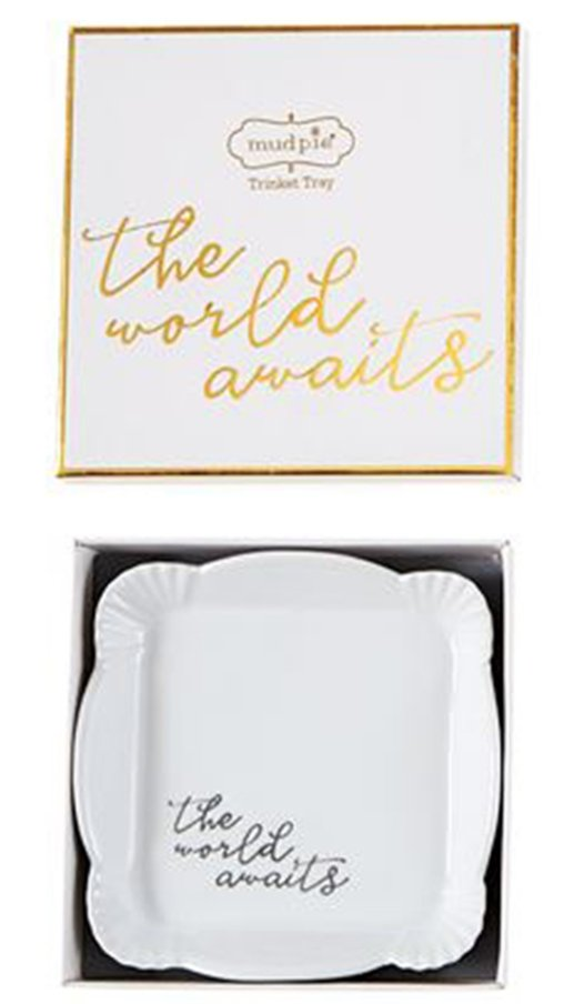 The World Awaits Trinket Dish - Molly's! A Chic and Unique Boutique