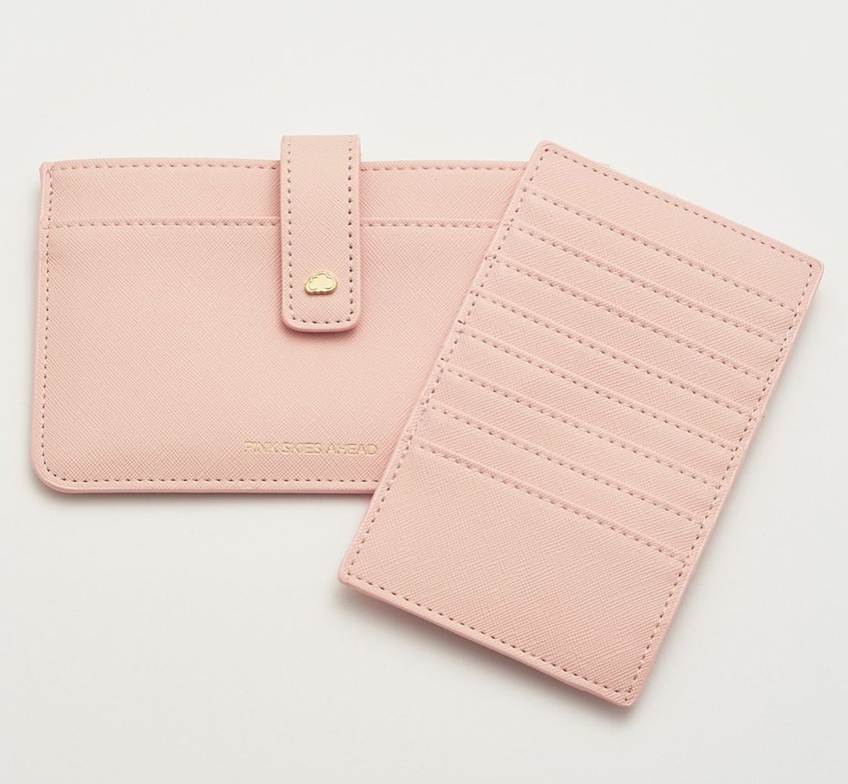 TRAVEL DOCUMENT WALLET - BLUSH - Molly's! A Chic and Unique Boutique