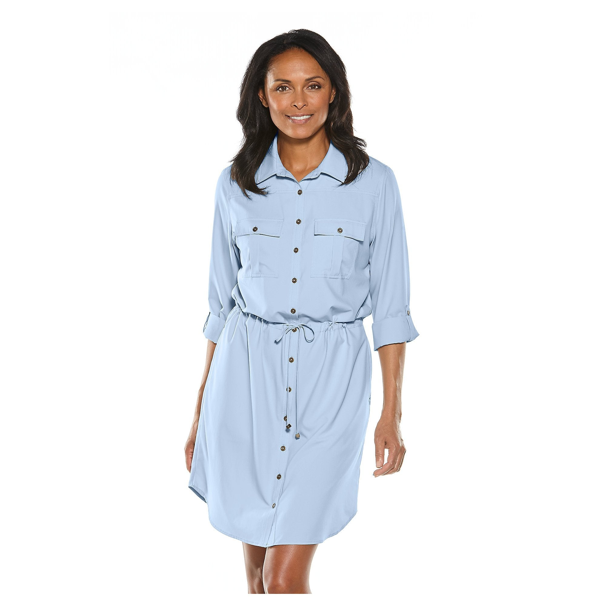 TRAVEL SHIRT DRESS (XXL ONLY) - Molly's! A Chic and Unique Boutique