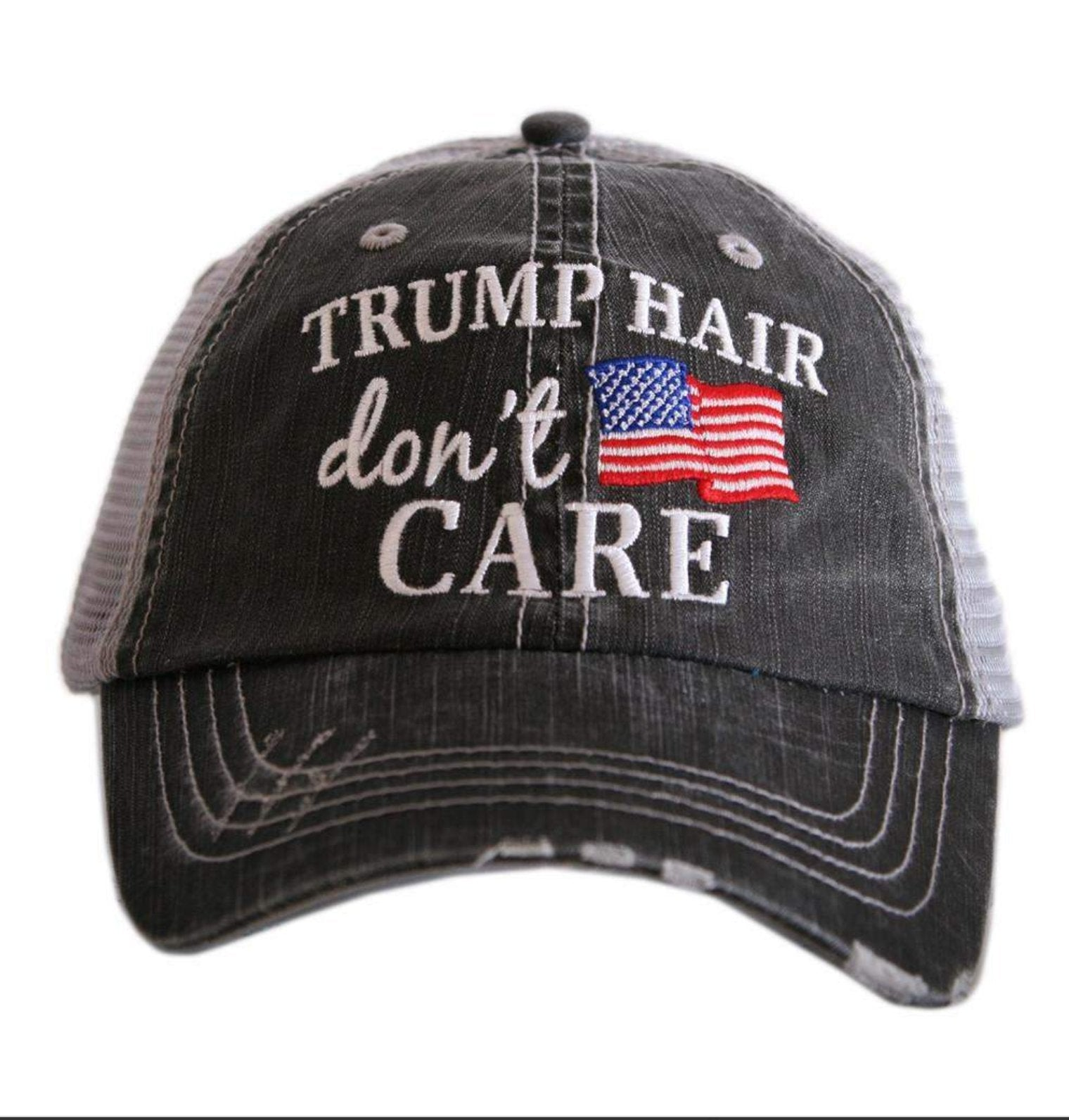 TRUMP HAIR DONT CARE TRUCKER HAT - KDC-TC-195 - Molly's! A Chic and Unique Boutique