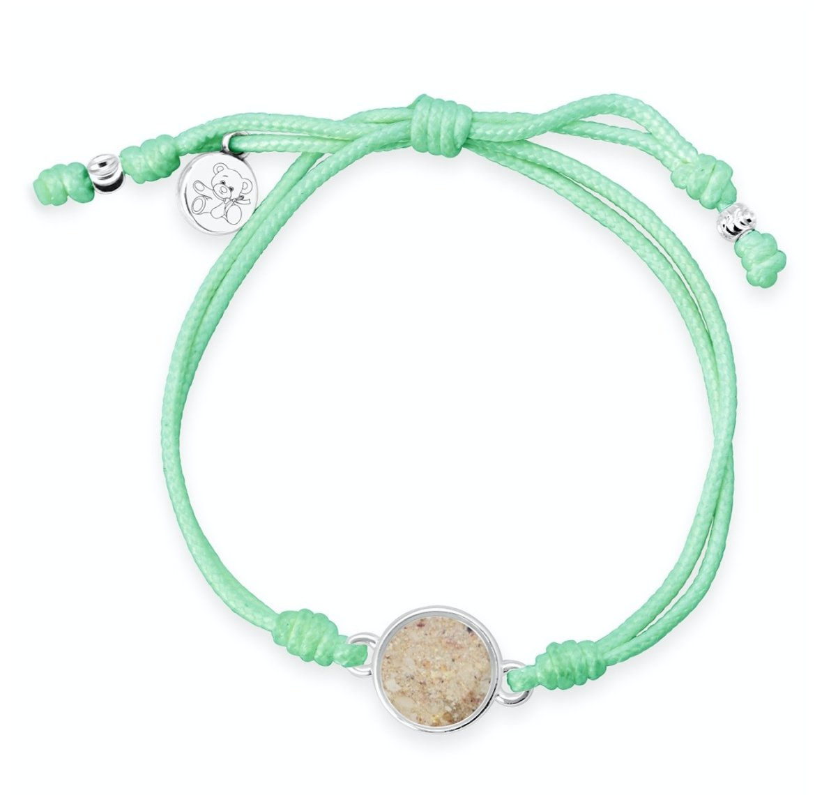 TTW MINT TEDDY BEAR/CHILDHOOD CANCER - Molly's! A Chic and Unique Boutique