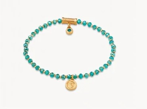 TWINKLE STRETCH BRACELET - AQUA/MERMAID - 949700 - Molly's! A Chic and Unique Boutique