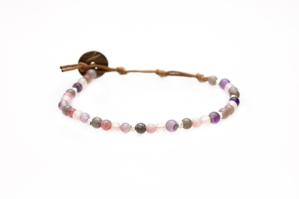 VITALITY & PROSPERITY (4MM) HEALING  BRACELET - 41030 - Molly's! A Chic and Unique Boutique