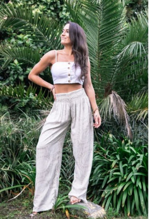 WIDE LEG PANTS - (Two colors available) - Molly's! A Chic and Unique Boutique