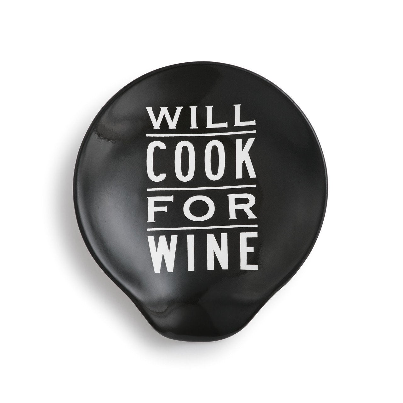 WILL COOK FOR WINE SPOON REST - Molly's! A Chic and Unique Boutique