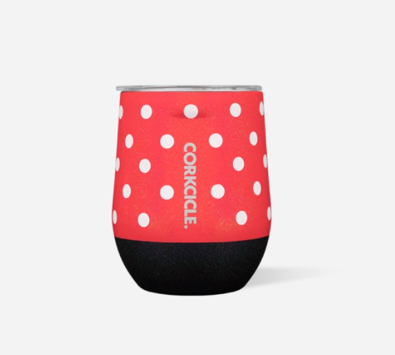 DISNEY MINNIE MOUSE STEMLESS CUP - Molly's! A Chic and Unique Boutique