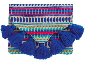 Woven Tassel Clutch - Molly's! A Chic and Unique Boutique