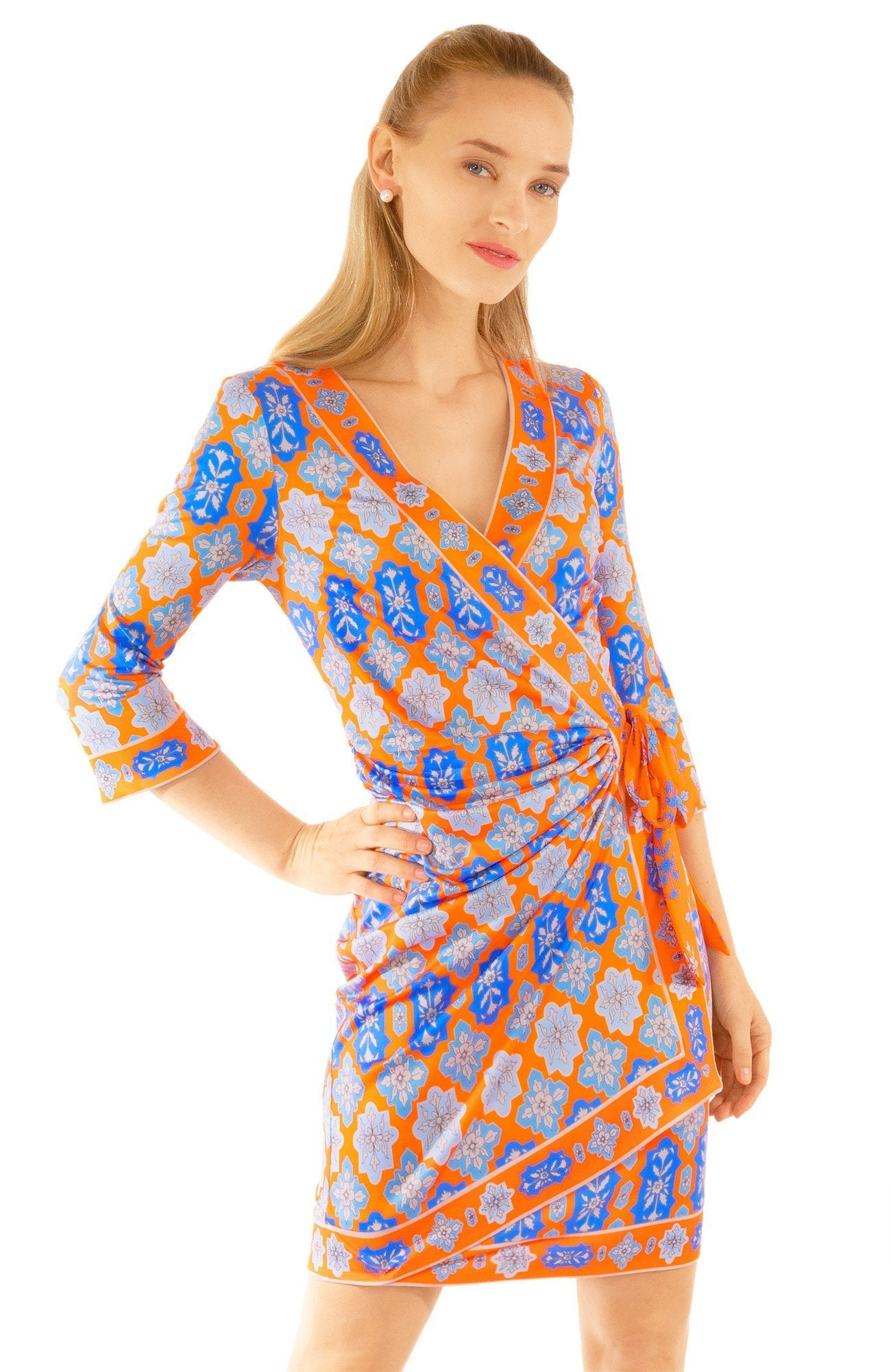 WRAP DRESS-HAVELI (XS and Small Only) - Molly's! A Chic and Unique Boutique