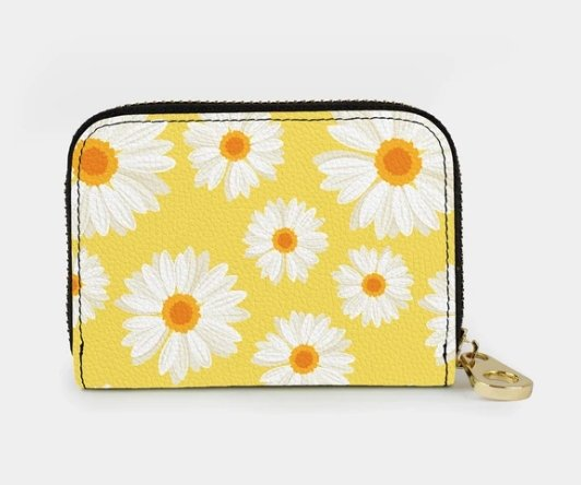 YELLOW DAISIES-ZIPPER - Molly's! A Chic and Unique Boutique