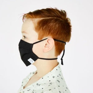 Youth Pleated Mask With Adjustable Elastic in Floating Garden - Molly's! A Chic and Unique Boutique