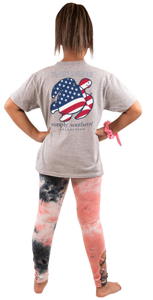 YOUTH SAVE THE TURTLES - FLAG T-SHIRT - Molly's! A Chic and Unique Boutique
