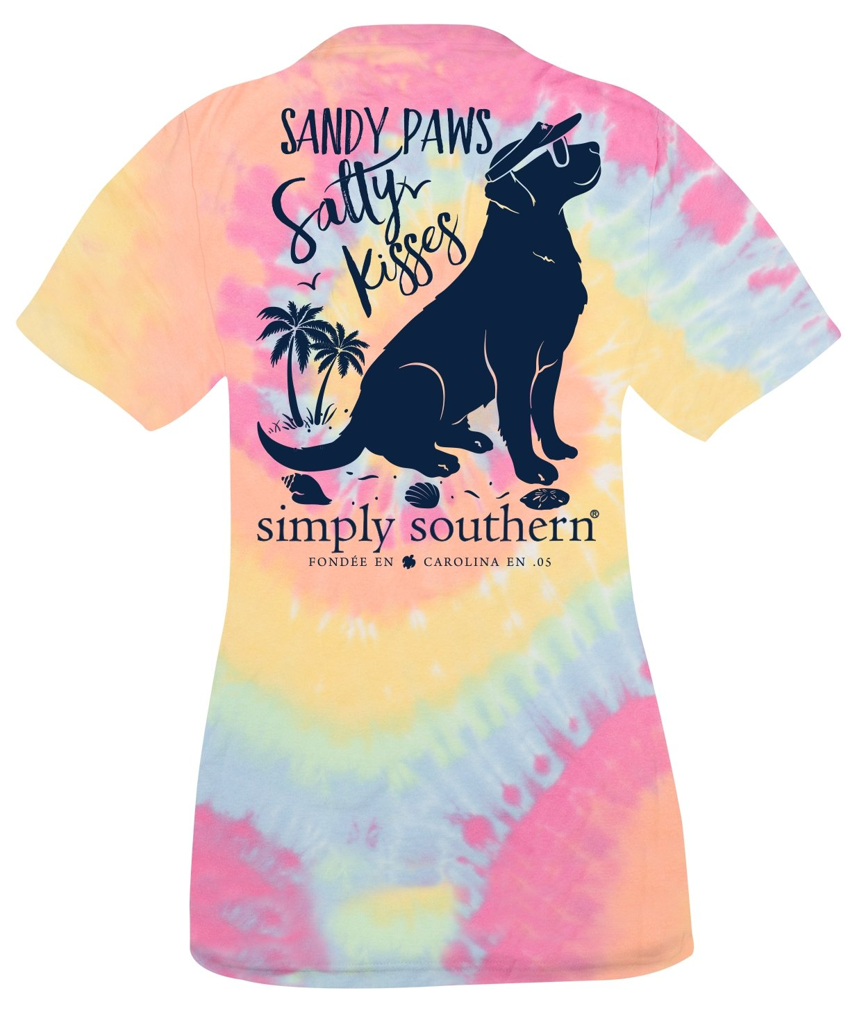 YTH-SANDY-TIEDYE T-SHIRT - Molly's! A Chic and Unique Boutique