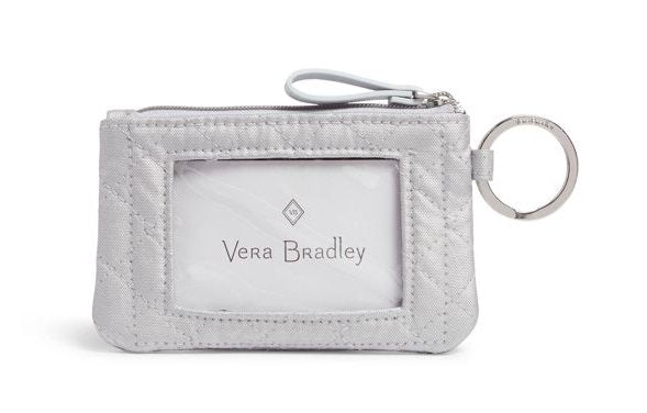 ZIP ID CASE IN SILVER PEARL - Molly's! A Chic and Unique Boutique