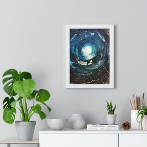 """Distance"" Premium Framed Artwork"