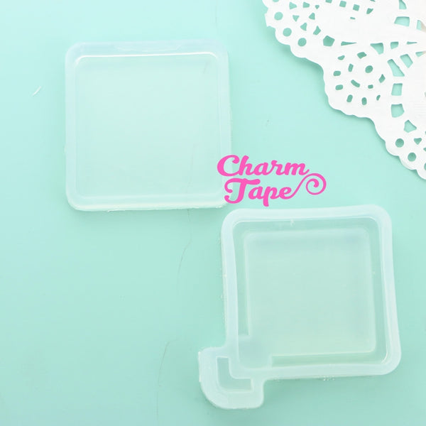 Square UV Resin Mold, Resin Shaker Mold, Epoxy, Shaker Mold Silicone Silicon flexible mold