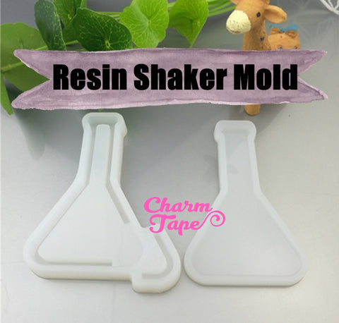 Beaker Glass UV Resin Mold, Resin Shaker Mold, Epoxy, Shaker Mold Silicone Silicon flexible mold Q216
