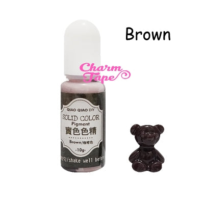 Resin Opaque Color Pigment - Colorant Pigment Dye for Resin Coloring - 10g Color Dyes for Resin