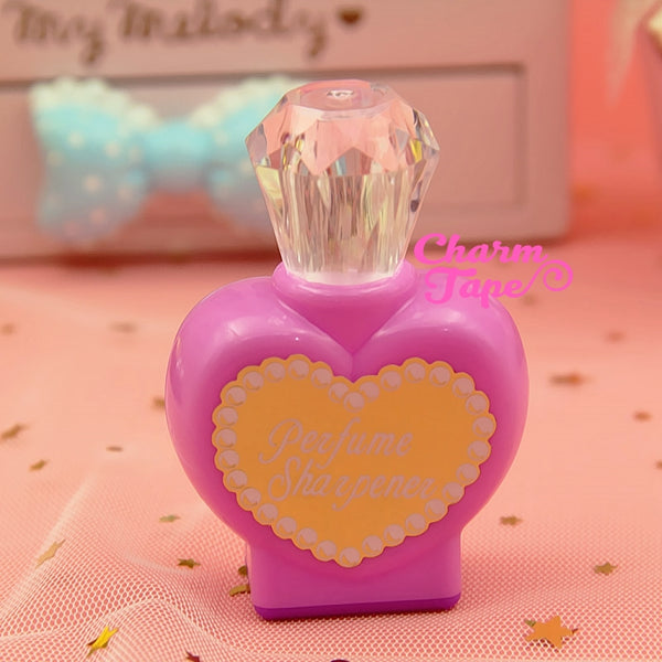 Pencil Sharpener - Vanity Bottle Cute Pencil Sharpeners