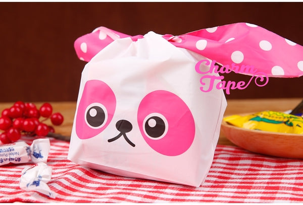 Cute Raccoon Bags // Cello Bags // Party Bags Set of 25bags CB29