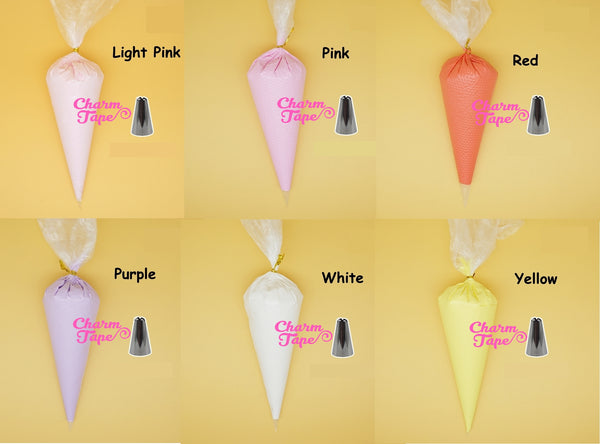 Air Dry Fuwa Clay Whip Deco Cream - 50gram (Free 1 tip) Fake Frosting Iphone Decoden