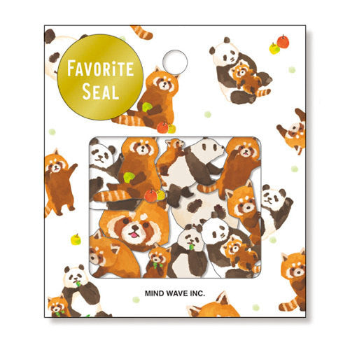 Copy of Zoo animals Sticker Flakes Set 70 Sheets Mindwave Japan SS912 - CharmTape - 1