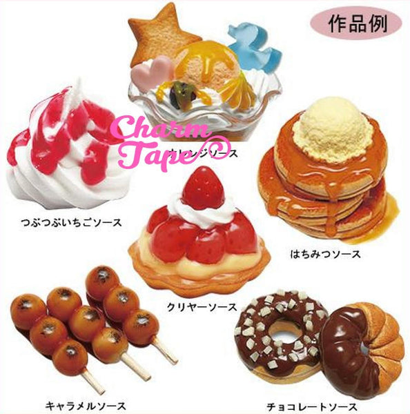 Fake Deco Fruit Sauce (Jam) - 20ml Decoden | Acrylic Paint | Miniature Food | Food Jewelry (Japan Quality)