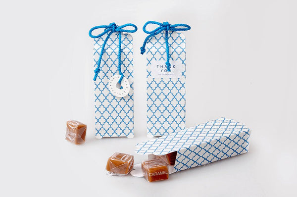 10 Gift Boxes (10 boxes) - Greece Motif packaging box Candy Favor Boxes PB021
