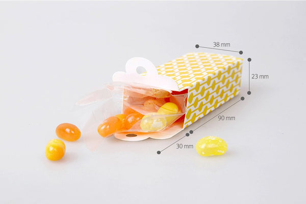 10 Gift Boxes (10 boxes) - Moroccan Flower packaging box Candy Favor Boxes PB019